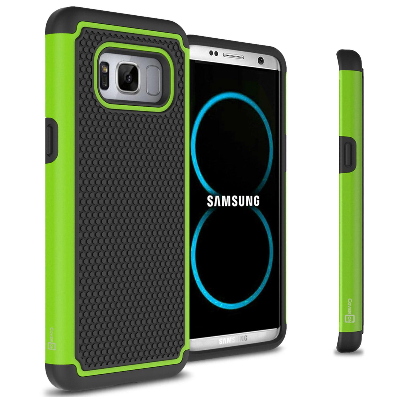 CoverON Samsung Galaxy S8 Case, HexaGuard Series Hard Phone Cover