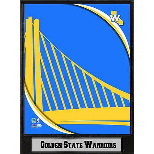 NBA Golden State Warriors Photo Plaque, 9x12