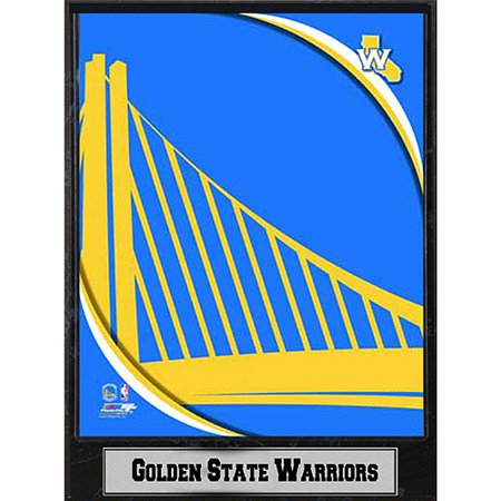 NBA Golden State Warriors Photo Plaque, 9x12 - Gold State Warriors