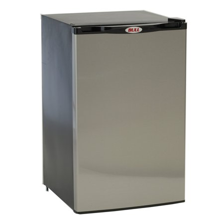 Stainless Steel Table Refrigerator - Bull Free Standing Outdoor Stainless Steel Refrigerator