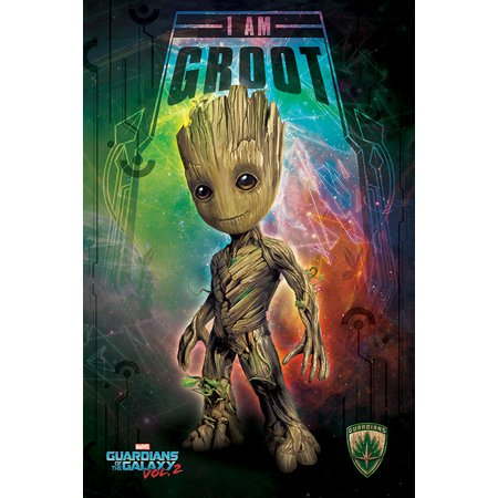 Guardians Of The Galaxy Vol. 2 - Movie Poster / Print (Baby Groot) (Size: 24