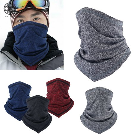 Luxtrada Cycling Face Mask Clothing Neck Gaiter Breathable Cooling Riding Face Wrap Outdoor Sports Scarf Men Women (Gray)](Scary Half Face Mask)