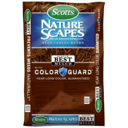 2PK Nature Scapes 2 CUFT Color Enhanced Deep Forest Brown Mulch
