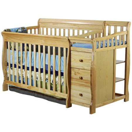Dream On Me 5 In 1 Brody Convertible Fixed Side Crib With Changer