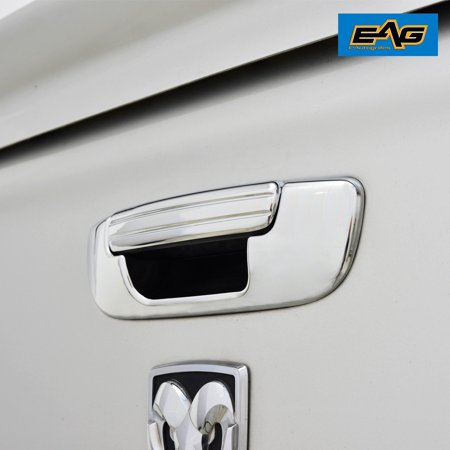 E-Autogrilles 02-08 Dodge Ram 1500 / 03-09 Dodge Ram 2500 / 3500 Triple Chrome ABS Tailgate Handle Cover, FITMENT -02-08 Dodge Ram 1500 / 03-09 Dodge Ram 2500.., By EAutogrilles from USA Chrome 1500 Triple Handle