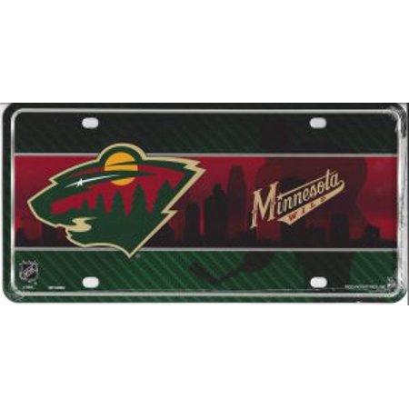 Minnesota Wild Metal License Plate - image 1 de 2