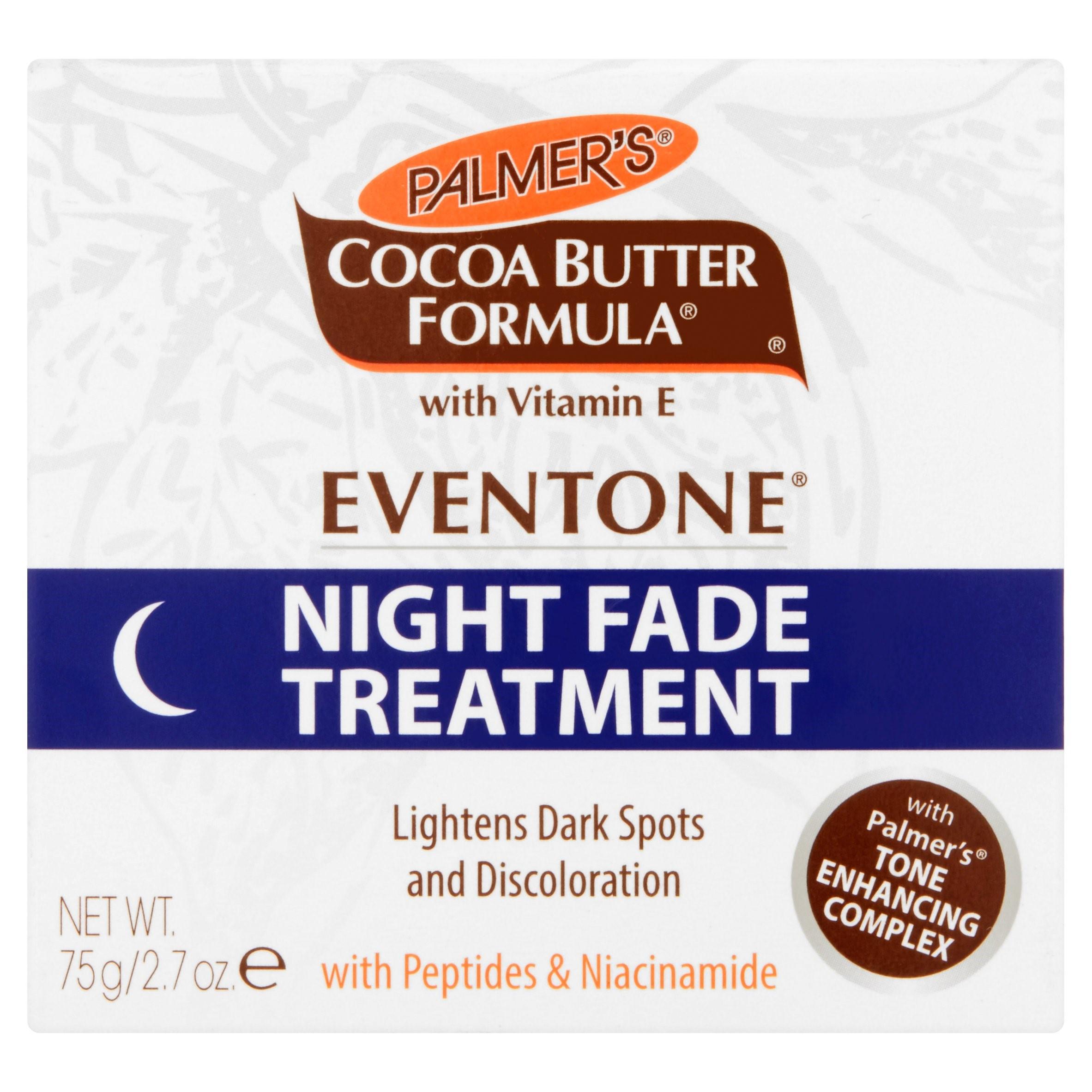 Palmer's Cocoa Butter Formula Eventone Night Fade Treatment Skin Lightener, 2.7 oz