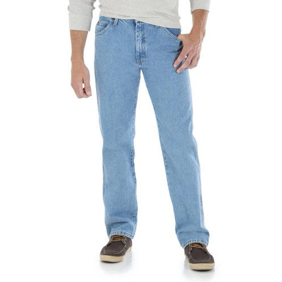 857353e9 Wrangler - Wrangler Men's Regular Fit Jeans - Walmart.com