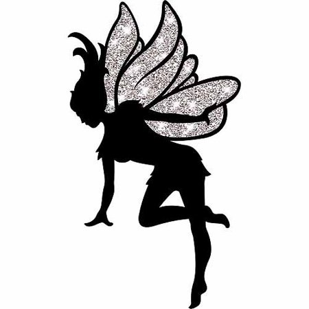 Neverland Fairy Silhouette Cut Out