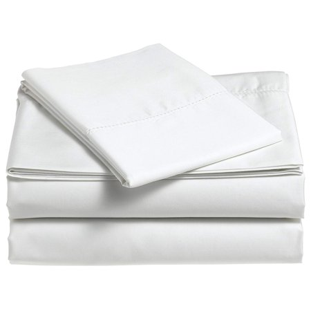 Classic Hemstitch Sheet Set (Beauty Threadz 400-Thread-Count Egyptian Cotton Sateen Hemstitch Sheet Set - Cal King, Egg Shell)