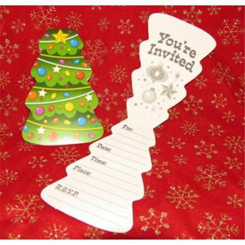 Bulk Buys Christmas Invitations Case Of 7