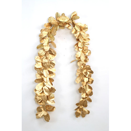 Distinctive Designs Natural Laurel Leaf Garland (Set of 2)
