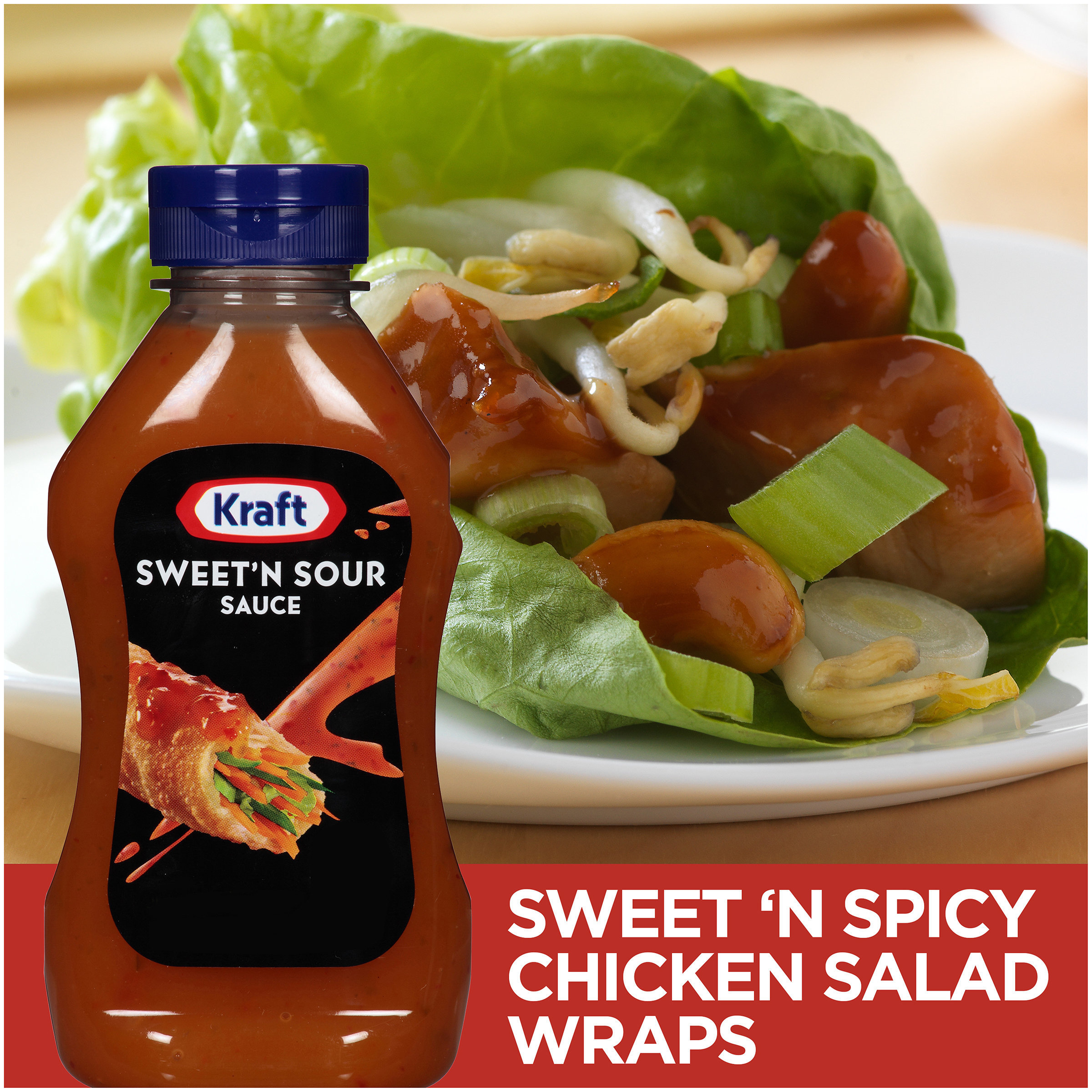 Kraft Sweet N Sour Sauce 12 Fl Oz Bottle Walmart Com Walmart Com
