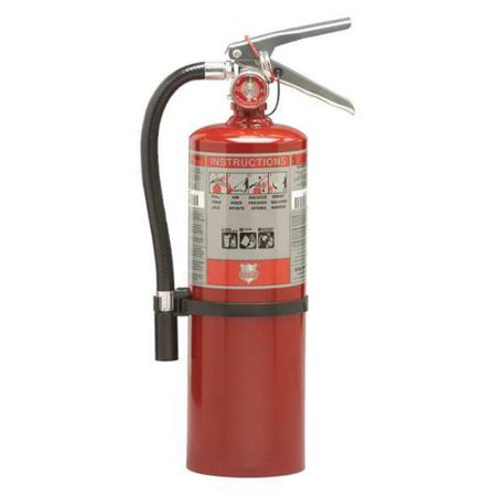 Shield Fire Protection 5 lb. Capacity, Fire Extinguisher, Dry Chemical, 10914R