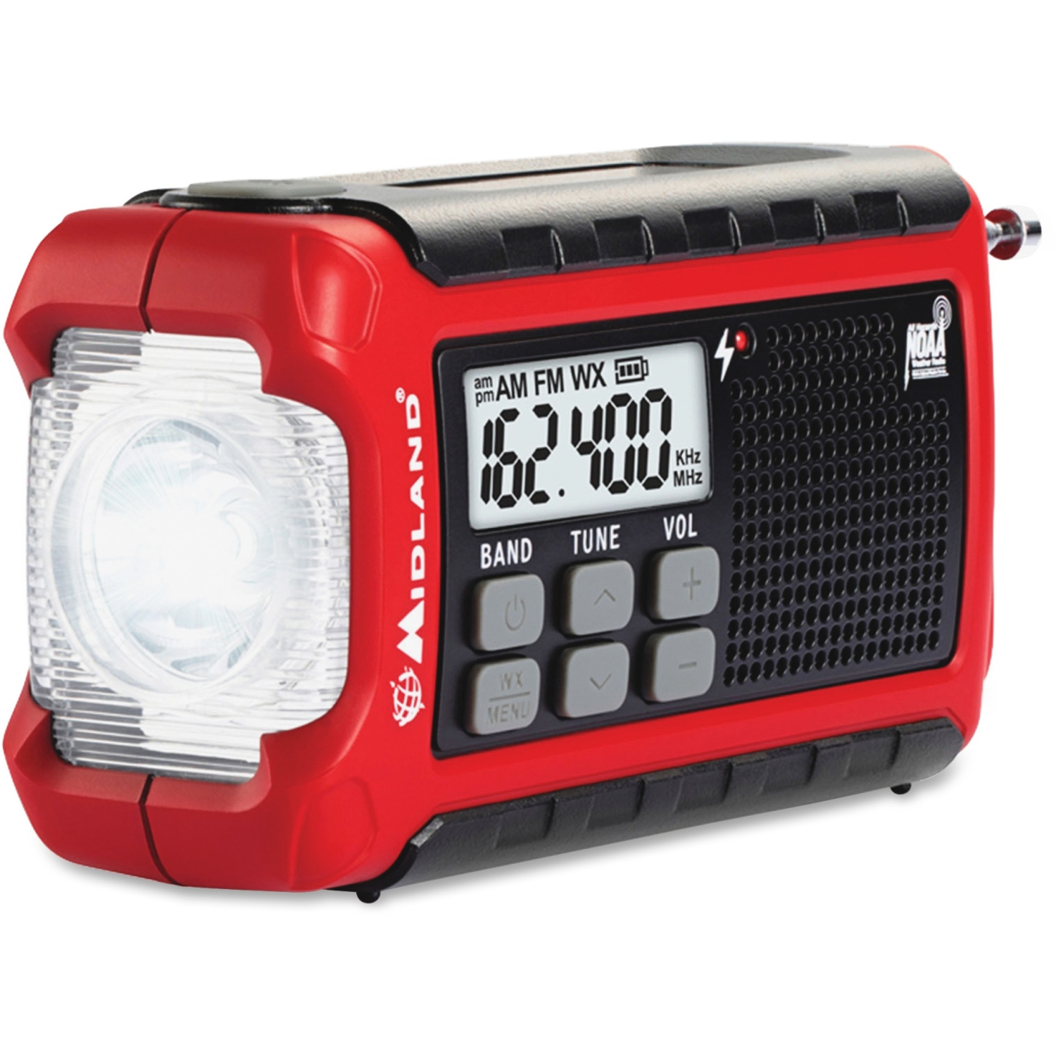 Midland Er200 Emergency Dynamo Crank Radio With Am fm & Weather Alert by Midland