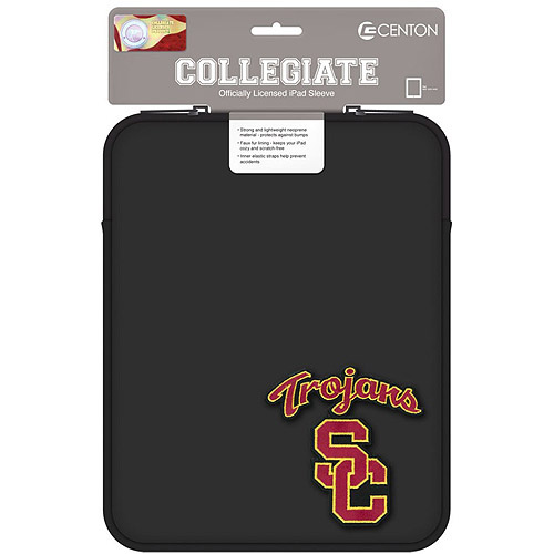 "Centon 10"" Classic Black Tablet Sleeve University of San Fransisco"
