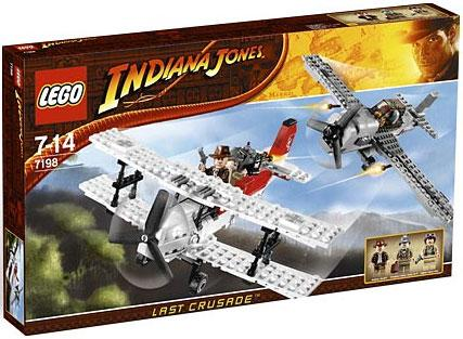 Lego Indiana Jones Fighter Plane Attack by LEGO