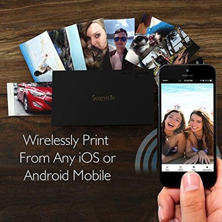 Portable Instant Photo Printer for iPhone or Android