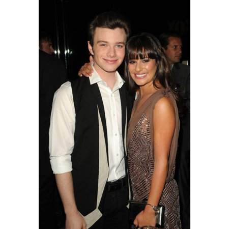 Chris Colfer Lea Michele At Arrivals For Fox Fall Eco-Casino Party The Bookbindery Culver City Ca September 12 2011 Photo By Dee CerconeEverett Collection Celebrity - Party City Woodbridge