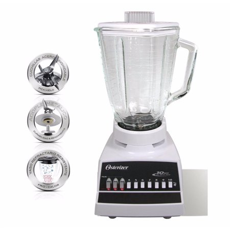 Oster 220 Volt Blender 10 Speed with Glass Jar 4172 (WILL NOT WORK IN USA) ()