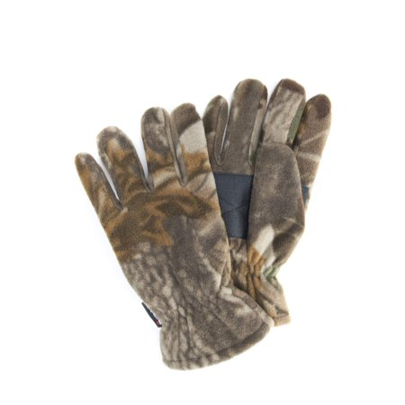 Hybrid Fleece Glove - QuietWear Men's Waterproof Fleece Gloves