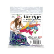 Alliance Tie-Dye Rubber Bands Assorted Pack, 2 oz.