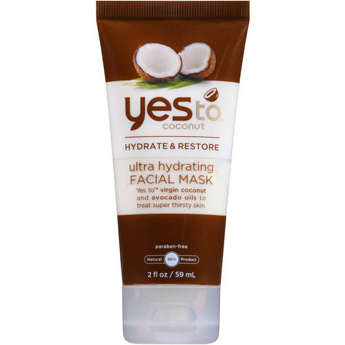 Yes To Coconut Hydrate & Restore Ultra Hydrating Facial Mask, 2 fl oz