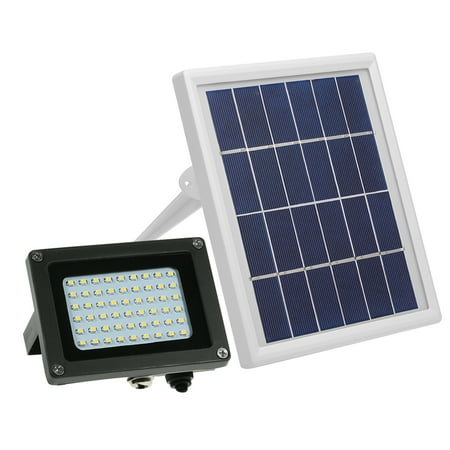 Solar Powered Floodlight 54 LED Solar Lights IP65 Waterproof Outdoor Lights with Bracket for Home, Garden, Lawn