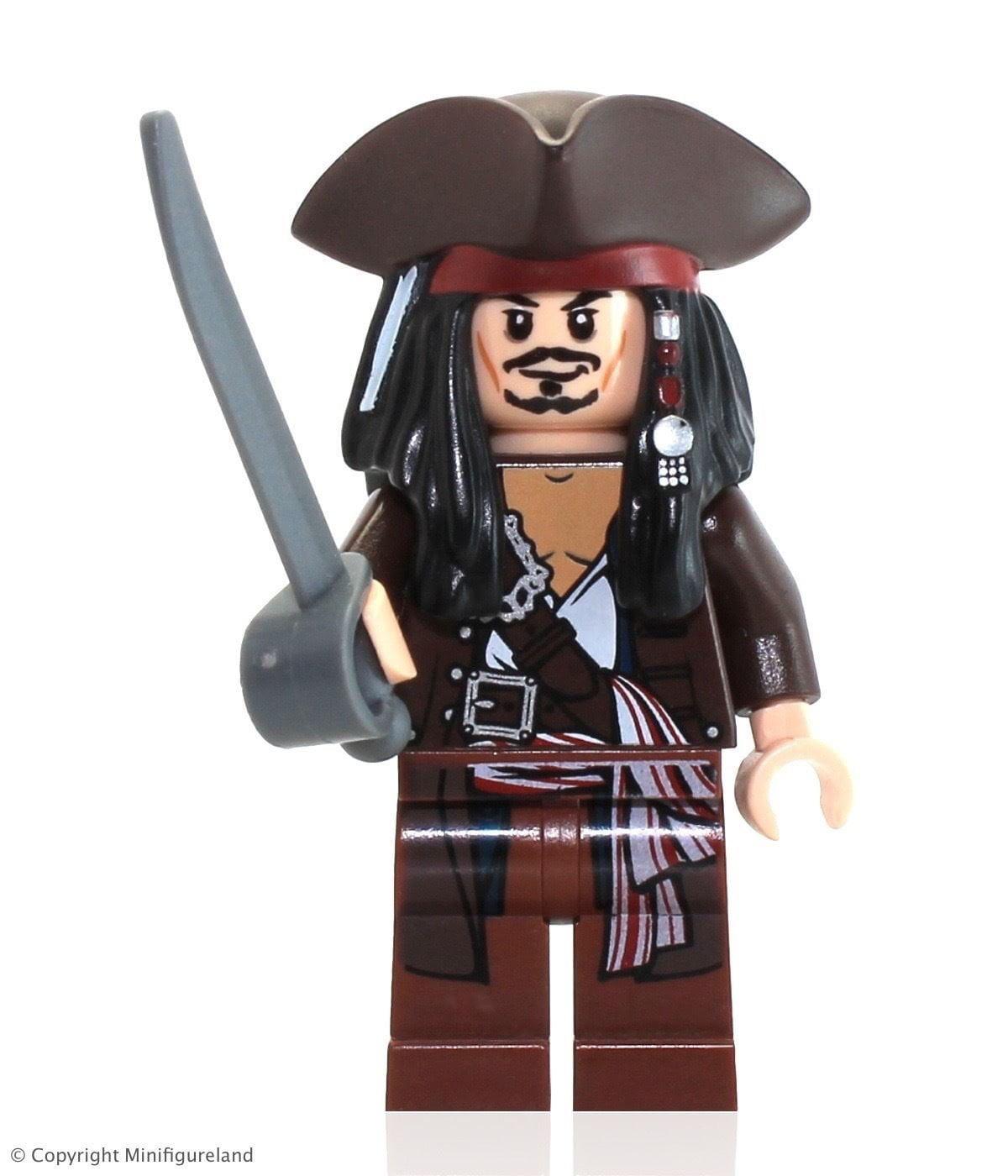 Lego Pirates Of The Carribean Jack Sparrow Tricorn Hat Minifigure