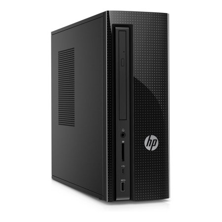HP Slimline 270-p019 Desktop Computer i3-7100T 8GB 1TB DVDRW Win10 Open Box