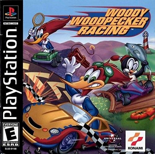 Woody Woodpecker Racing PSX