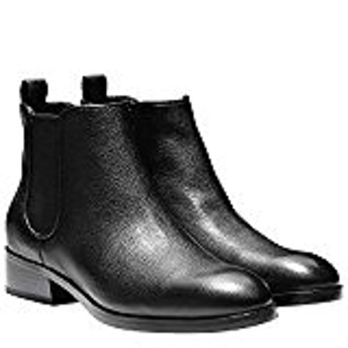 Cole Haan Women's Landsman Booties Short Black Leather Causal Ankle Boot Black Short (9) eb4df0