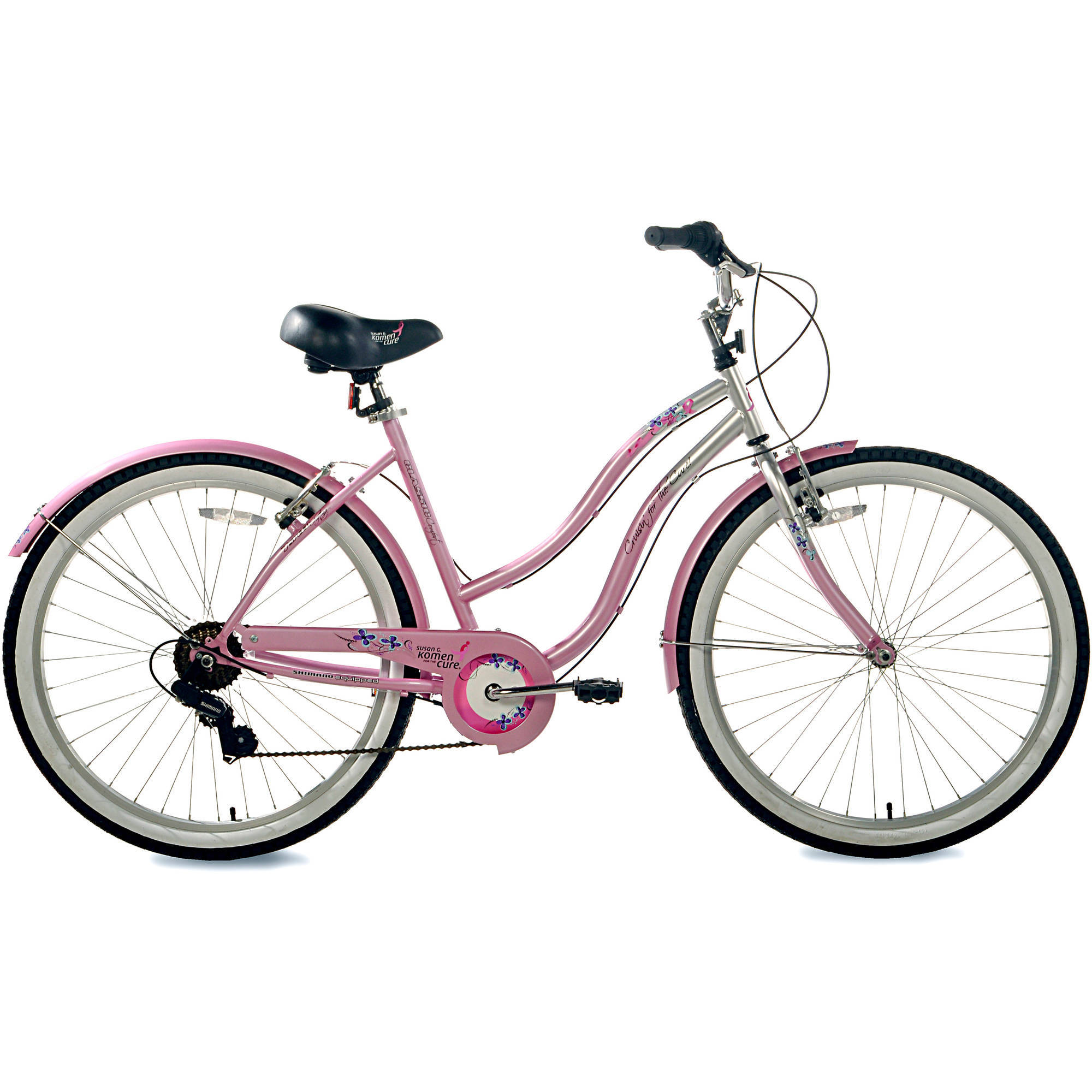 "26"" Susan G. Komen Multi-Speed Women's Cruiser Bike"