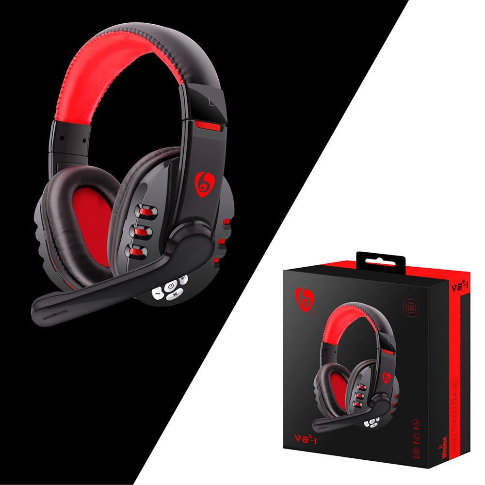 Matoen Wireless Gaming Headset Headphones With Microphone For Pc Phone For Pubg Walmart Com Walmart Com