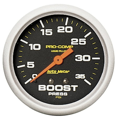Mechanical Boost Controller - AutoMeter 5404 Pro-CompT Liquid-Filled Mechanical Boost Gauge