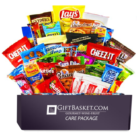 Ultimate Snacks Variety Box - Chips, Cookies, Candy Assortment Bundle Gift Pack - College Care Package (50 Count) ()