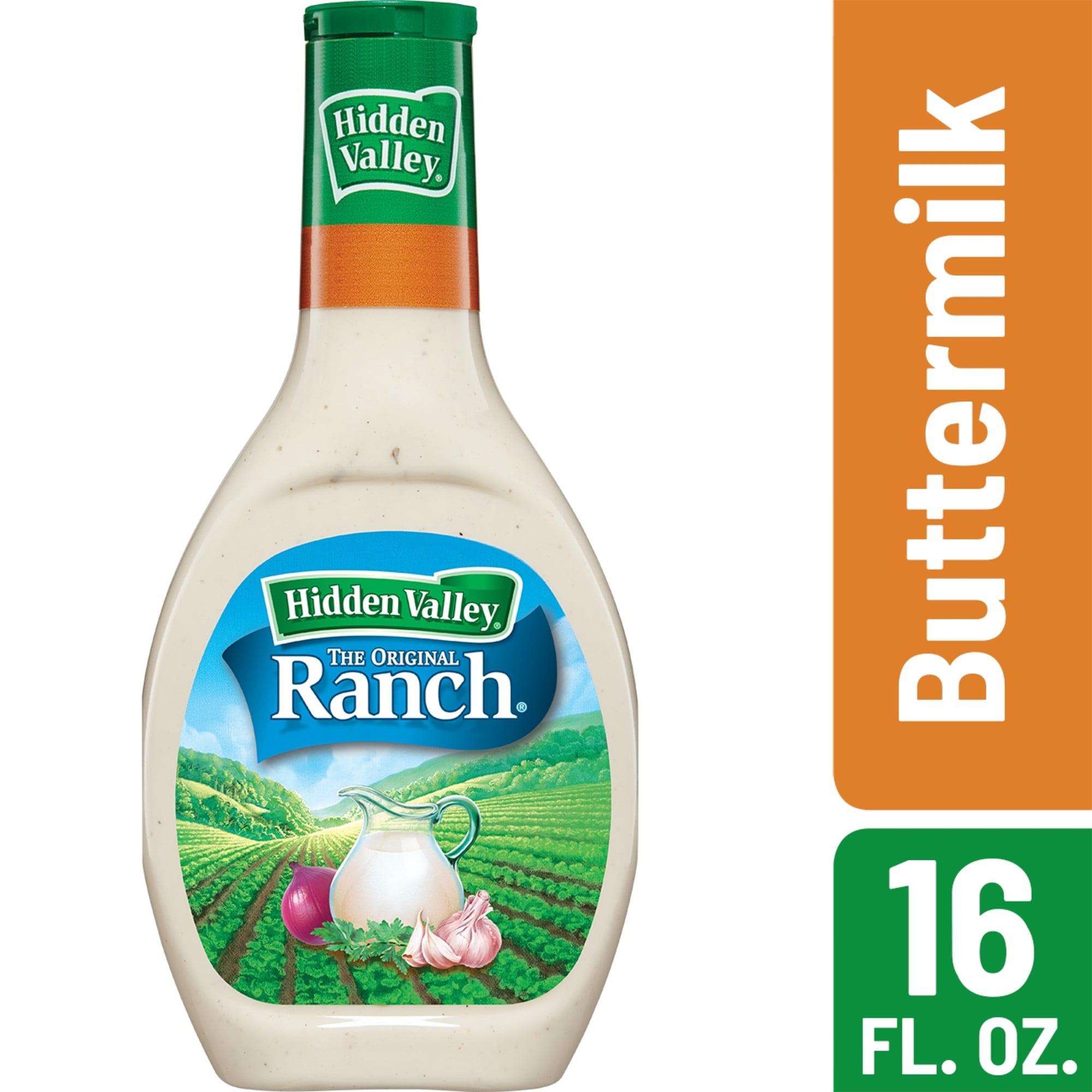 Hidden Valley Buttermilk Ranch Salad Dressing & Topping - 16fl oz