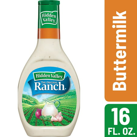 Hidden Valley Buttermilk Ranch Salad Dressing & Topping - 16oz Bottle