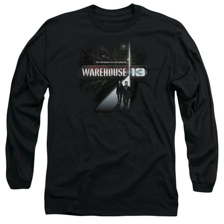 Warehouse 13 The Unknown Mens Long Sleeve Shirt