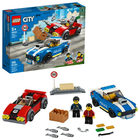 LEGO City Police Highway Arrest Building Set for Kids 60242