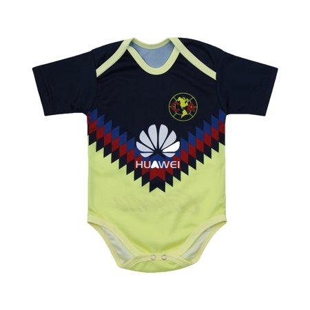 pretty nice 45395 d7e82 Soccer Club America Jersey Baby Bodysuit America Traje de Bebe Estadio  Azteca