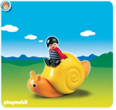 1.2.3 Rocking Snail Set Playmobil 6755
