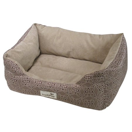 Worldwise Pet Prdcts Tp Damask Weave Tan Cuddle Couch