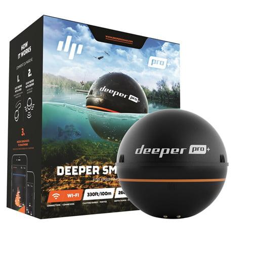 Deeper Smart Sonar PRO Plus WiFi And GPS Smart Sonar PRO Plus WiFi And GPS by Deeper
