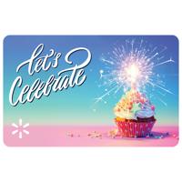 Let's Celebrate Walmart eGift Card