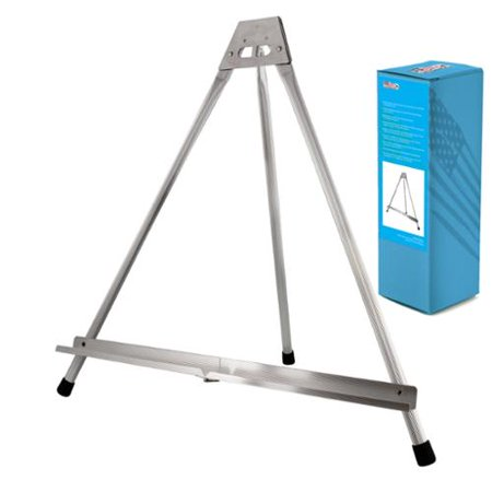 US Art Supply Aluminum Tabletop Easel Tri-Pod Display Table Top Rubber Feet
