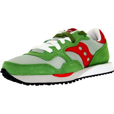 f2ca6253cd1 Saucony - Saucony Women's Dxn Trainer W Grey/Green Ankle-High Suede Running  Shoe - 8.5M - Walmart.com