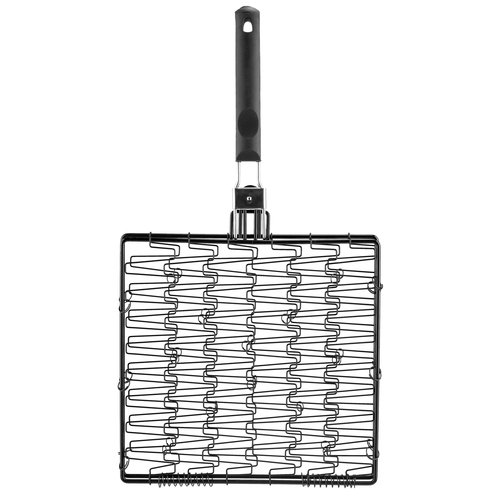 Mr. Bar-B-Q Non-Stick Flex Basket with Folding Handle