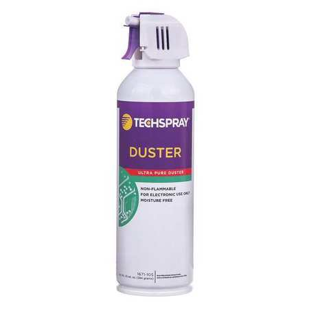 TECHSPRAY 1671-10S Aerosol Duster, 10 Oz. (10 Ounce Aerosol Cans)