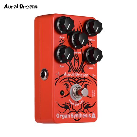 aural dream organ synthesis a electric guitar effects pedal with rock blues reggae rockband. Black Bedroom Furniture Sets. Home Design Ideas